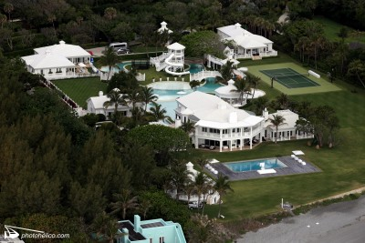 Jupiter, Florida : Céline Dion and René Angelil's House